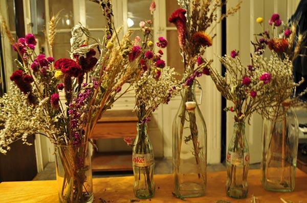 Сухие цветы в доме