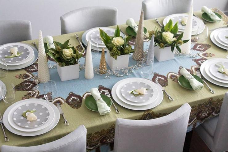 Как оформить новогодний стол в год крысы