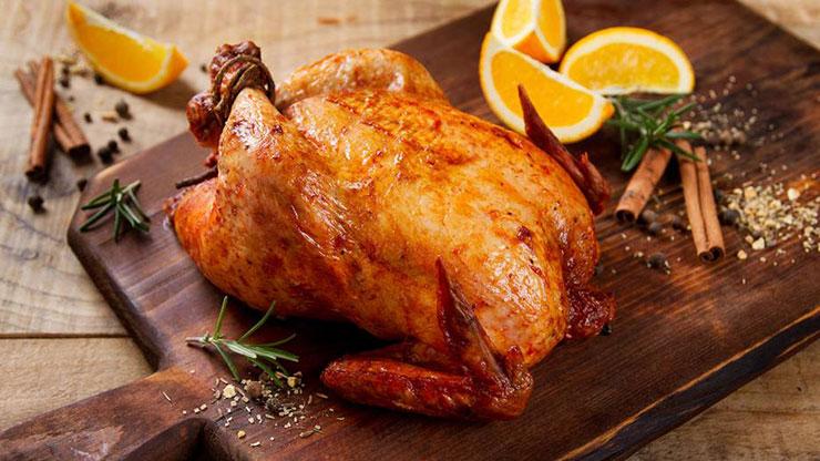 новогодняя курица
