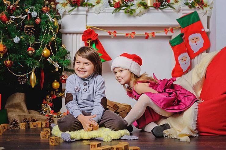 Новогодние вопросы для маленьких детей