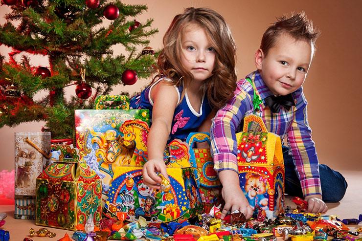 Подарок детям на новый 2020 год