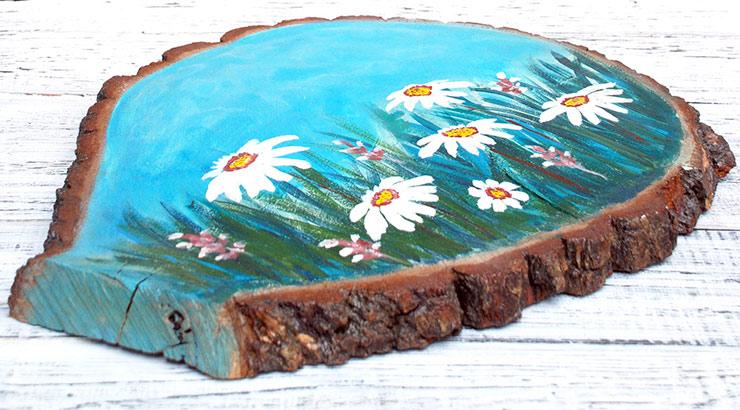 картины на древесине для ребенка