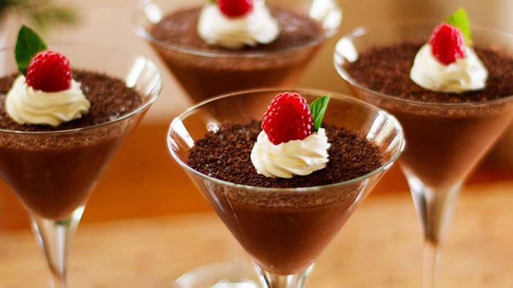 Бархатный шоколадный мусс