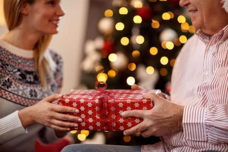 новогодний подарок дедушке