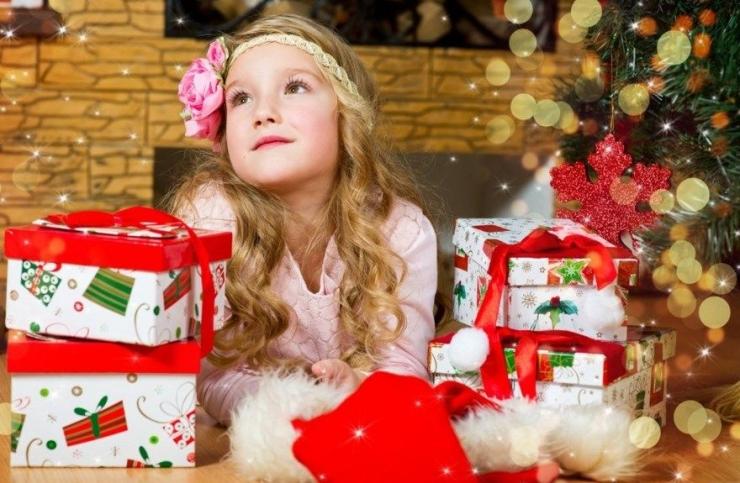 новогодний подарок дочери