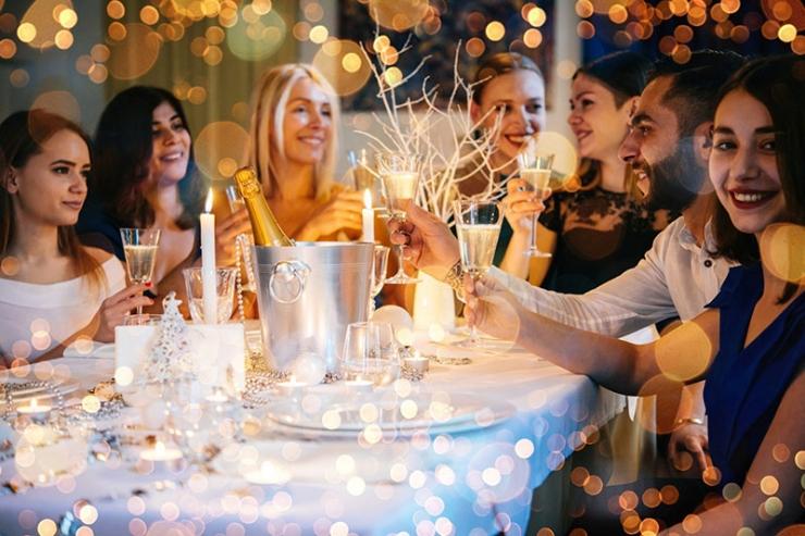 новый год в ресторане