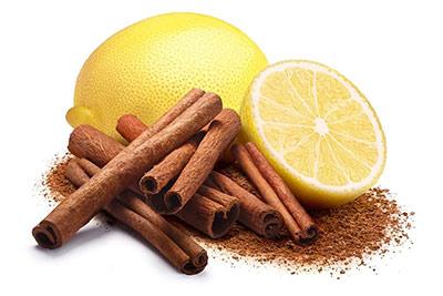 Маска с корицей и лимоном