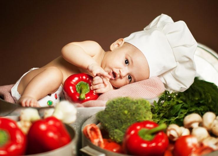 Секреты приучения ребенка к овощным блюдам