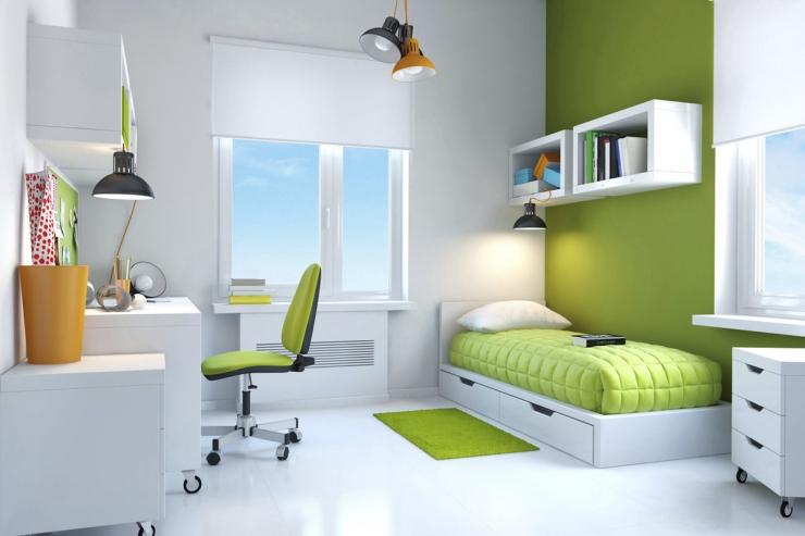 Лучшие цветовые решения в маленькой комнате