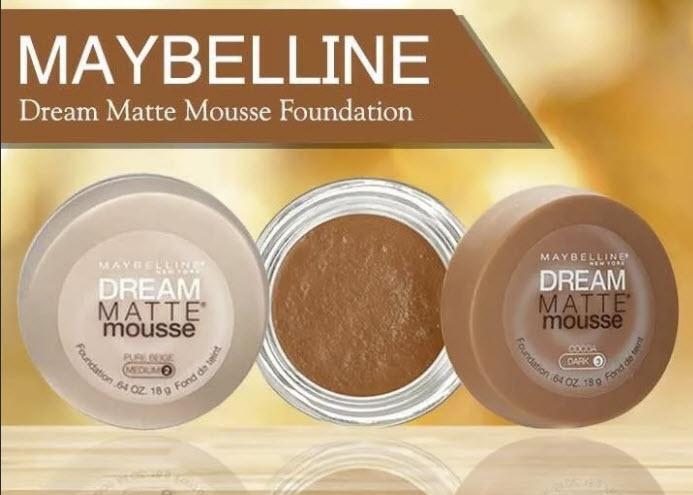 Dream Mat Mousse: основа идеального макияжа для всех типов кожи