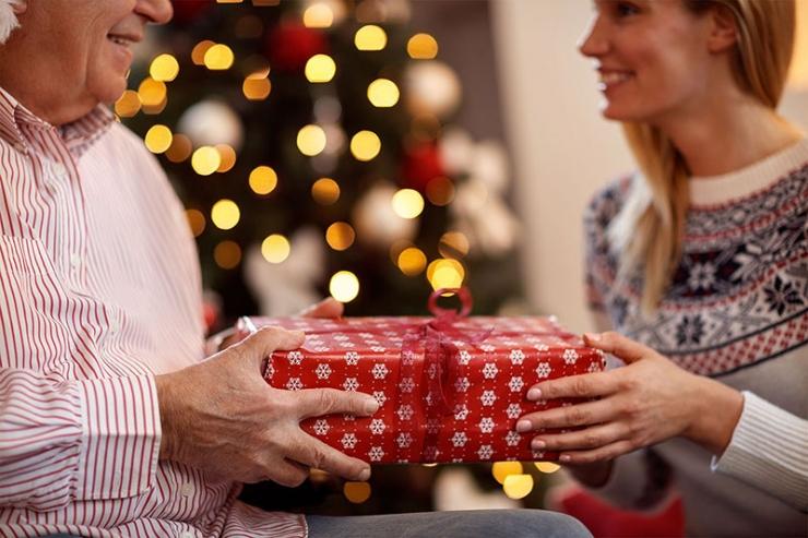 подарок для родителей на новый год