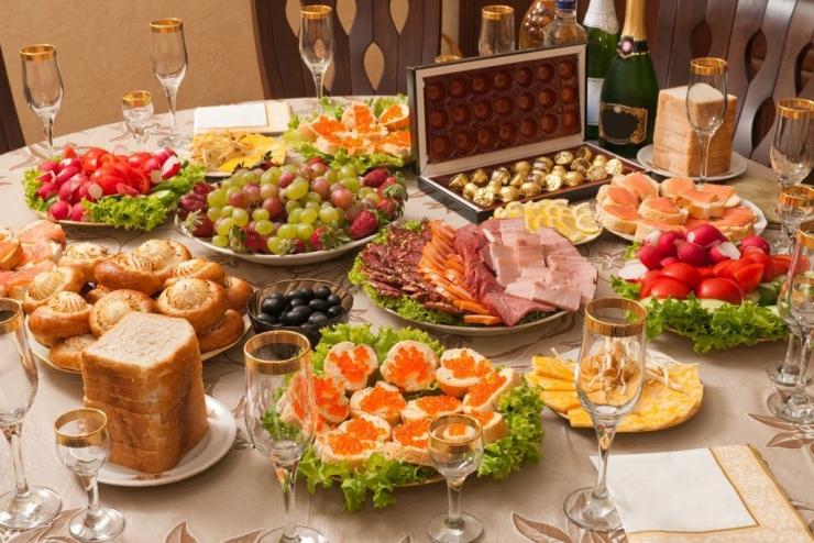 Новогодние блюда на стол в 2021
