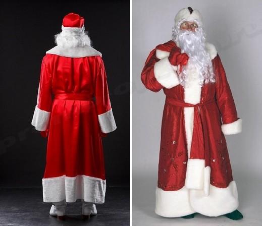 Как быстро и просто сшить костюм Деда Мороза