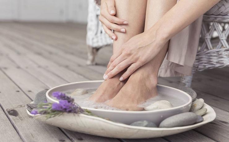Эффективные ванночки и маски для ног
