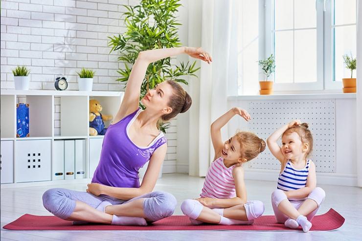 Польза утренней зарядки для детей