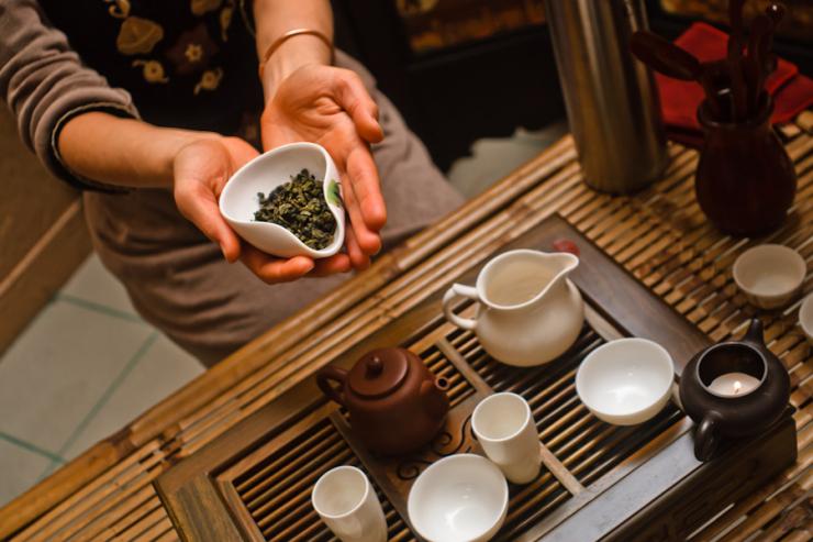 Восточная чайная церемония в домашних условиях
